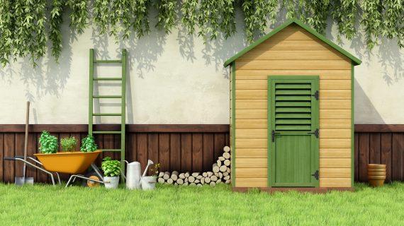 8 טיפים ליצירת מחסני גינה משלכם