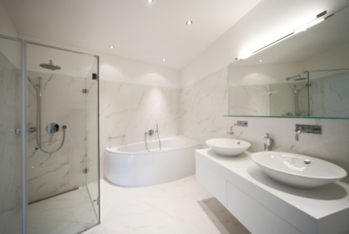 מקלחונים ואומנות עיצוב חדר הרחצה